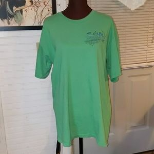 Izod Salt Life in Green with Blue & Black Graphics